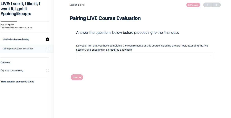 course eval image