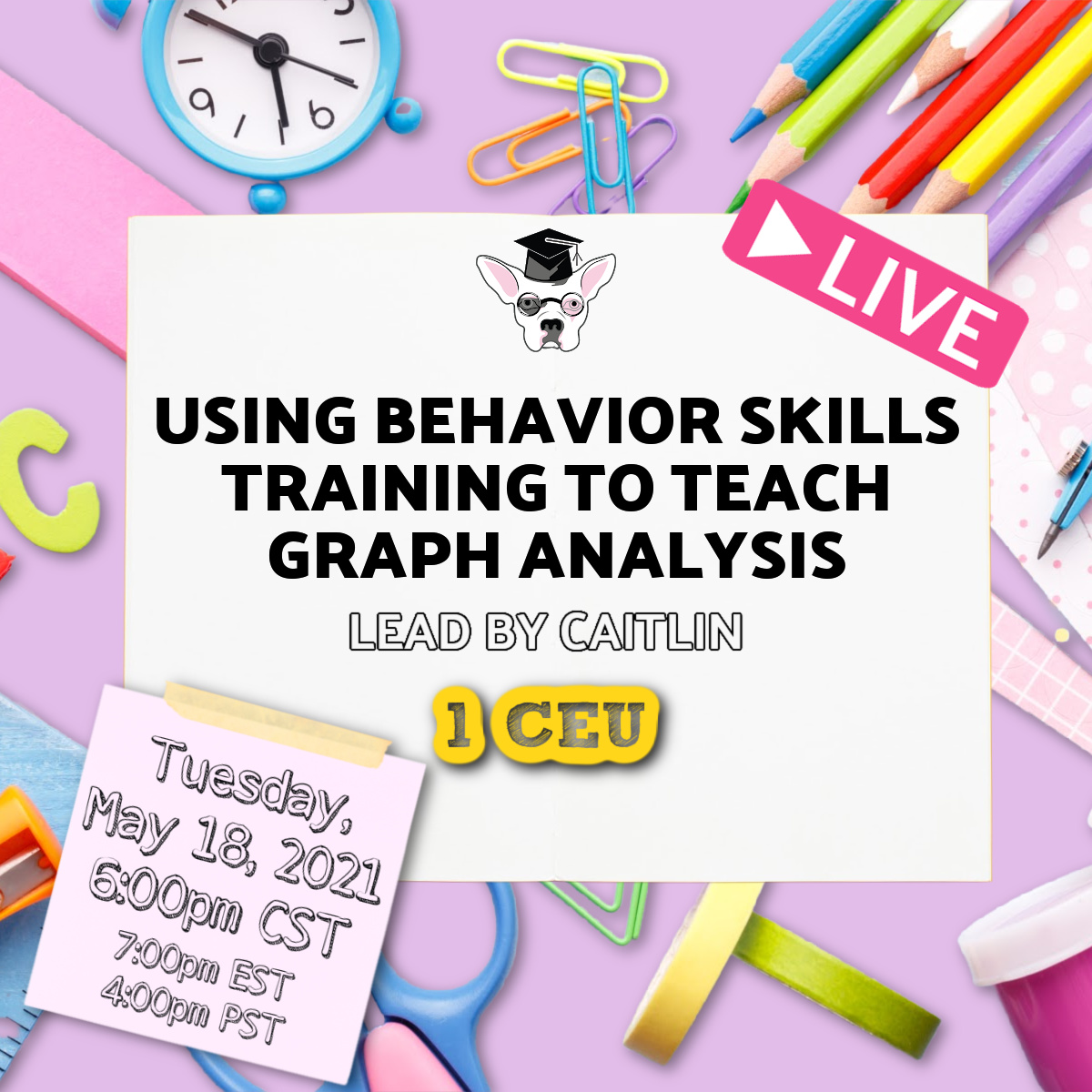 Using BST for graph analysis live